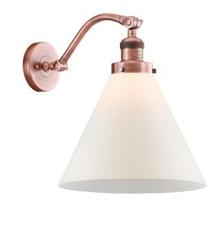 X-Large Cone 1 Light Sconce (3442|515-1W-AC-G41-L-LED)