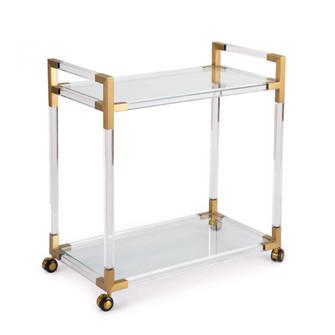 Americano Bar Cart (Natural Brass) (5533|31-1032)