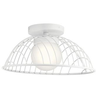 Semi Flush LED (10684|84096WH)