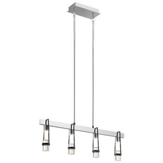 Linear Chandelier 4Lt LED (10684|84127)