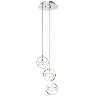 Cluster Pendant 3Lt LED (10684|84145)