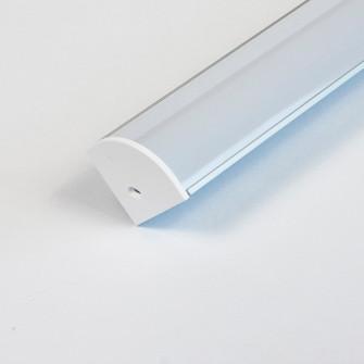 LED Mounting Channel Lens (674 LED-CHL-CL LENS)