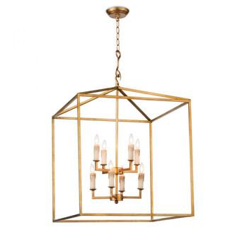 Cape Lantern (Antique Gold Leaf) (5533 16-1132AGL)