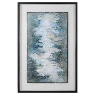 Uttermost Lakeside Grande Framed Abstract Print (85 41433)