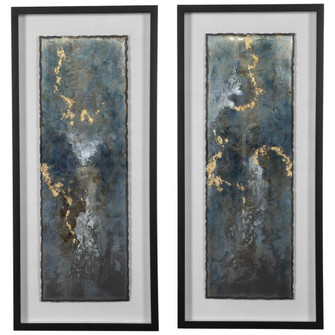Uttermost Glimmering Agate Abstract Prints, S/2 (85 41434)