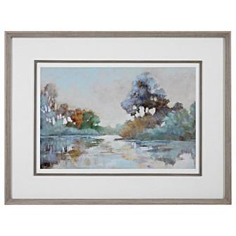 Uttermost Morning Lake Watercolor Framed Print (85 41418)