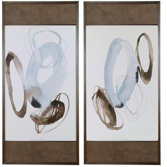 Uttermost Celestial Modern Framed Prints, S/2 (85 33715)