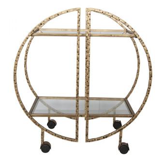 Uttermost Zelina Gold Bar Cart (85|25065)