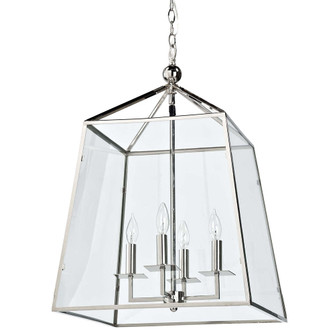 Cachet Lantern (Polished Nickel) (5533|16-1010PN)