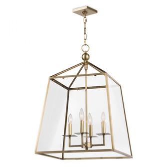 Cachet Lantern (Natural Brass) (5533|16-1010NB)