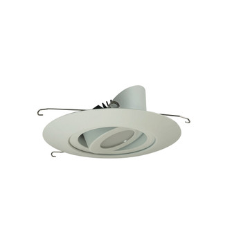 6'' Marquise II Round Surface Adjustable Trim, Spot, 2500lm, 4000K, White (Not Compati (104|NRM2-614L2540SWW)