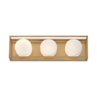 ROVER,3LT LED BATHBAR, GOLD (4304|39335-012)