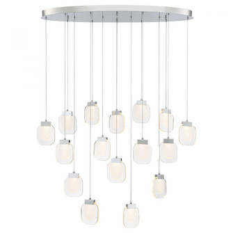 PAGET,16LT OVAL LED CHAND,CHR (4304|37194-027)