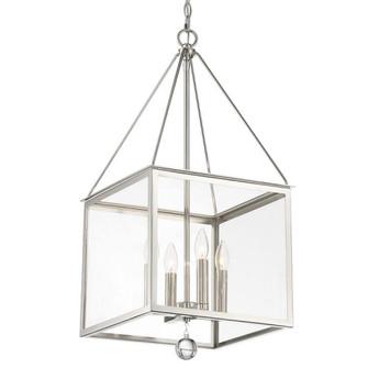 Weston 4 Light Polished Nickel Lantern (205 WES-9905-PN)