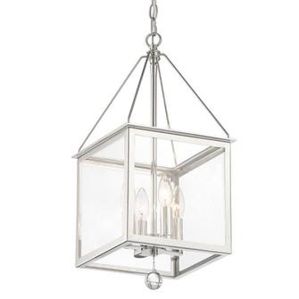 Weston 4 Light Polished Nickel Lantern (205 WES-9903-PN)