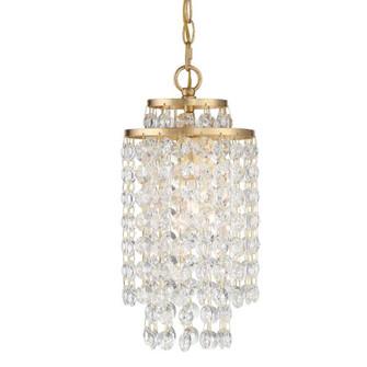 Gabrielle 1 Light Antique Gold Chandelier (205|GAB-B7301-GA)