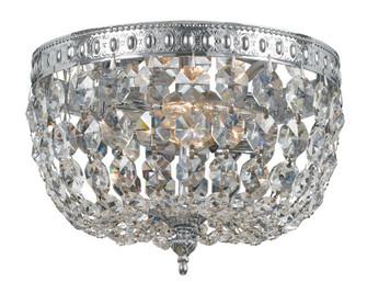 Crystorama 2 Light Clear Crystal Chrome Ceiling Mount I (205 708-CH-CL-I)