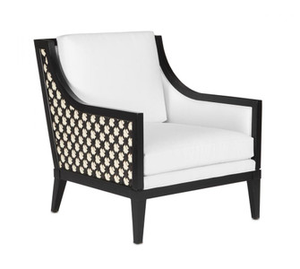 Bramford Black Muslin Chair (92|7000-0461)