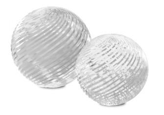 Medici Glass Sphere Set of 2 (92|1200-0456)