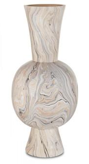 Gray Marbleized Tall Vase (92|1200-0418)