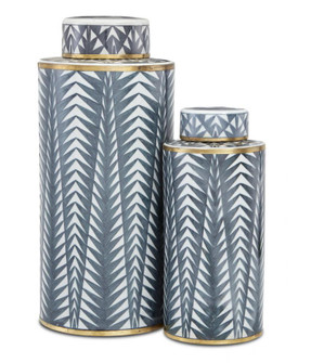 Art Deco Tea Canister Set of 2 (92 1200-0412)