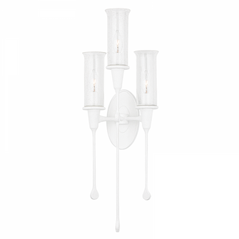 3 LIGHT WALL SCONCE (57 4103-WP)