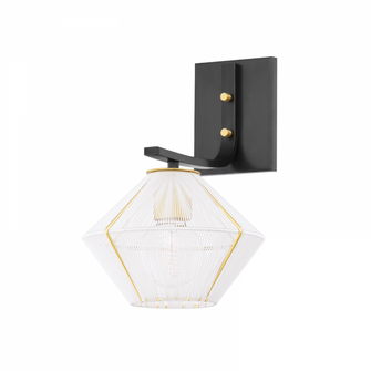 1 LIGHT WALL SCONCE (57 3330-AOB)