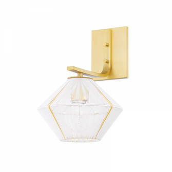 1 LIGHT WALL SCONCE (57 3330-AGB)
