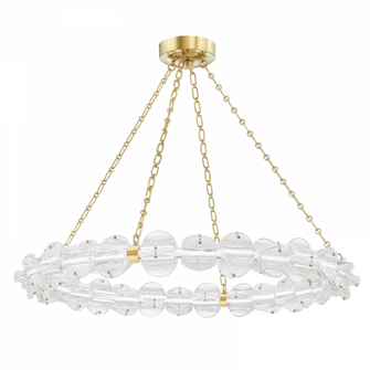 SMALL LED CHANDELIER (57 1938-AGB)