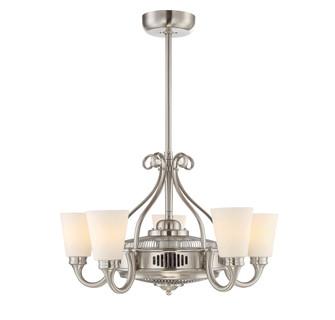 Borea 5 Light Fan D'lier (128|32-326-FD-SN)