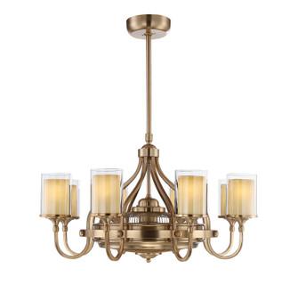 Etesian 8 Light Fan D'lier (128|36-329-FD-21)