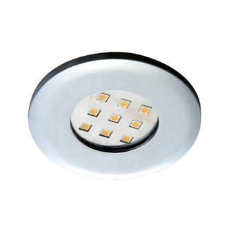 MINIPUCK,LED,2.7W,ROUND,CHROME (4304|19227-016)