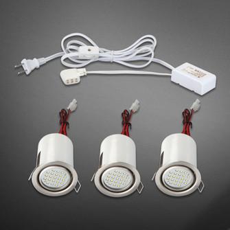 MINILITE KIT,LED,3LT,ADJ,S NKL (4304|19542-027)