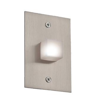 LED INWALL,1W,30K,SATIN NICKEL (4304|22533-012)
