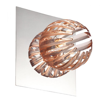 COSMO,1LT WALL SCONCE,CHR/AMB (4304|23203-013)