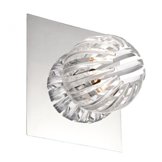 COSMO,1LT WALL SCONCE,CHR/CLR (4304|23203-037)