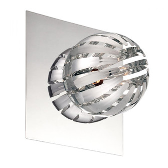 COSMO,1LT WALL SCONCE,CHR/CHR (4304|23203-068)