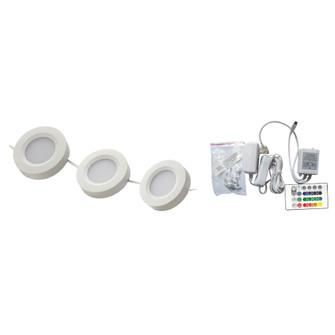 PUCK KIT,LED,3LT,2W,WHITE (4304|28554-023)