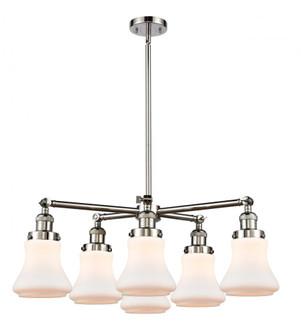 Bellmont 6 Light Chandelier (3442 207-6CR-PN-G191)