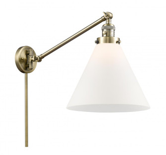 Cone Swing Arm With Switch (3442|237-AB-G41-L-LED)