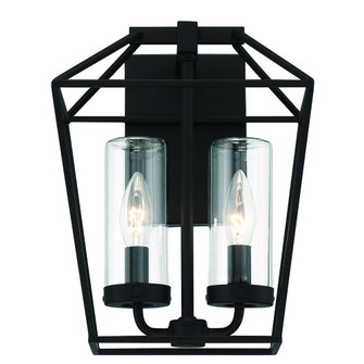 2LT 12'' outdoor  wall sconce (4304|41957-011)