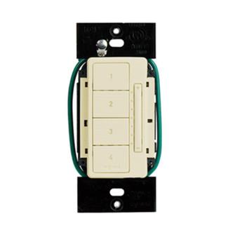In-Wall RF Scene Controller, Light Almond LC2303-LA (5710 LC2303-LA)