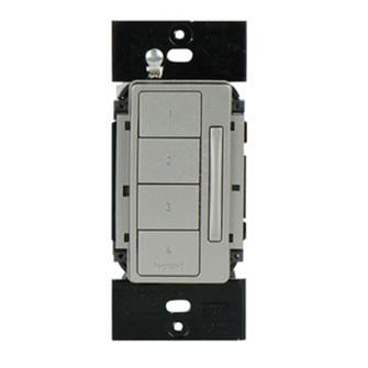 In-Wall RF Scene Controller, Nickel LC2303-NI (5710 LC2303-NI)