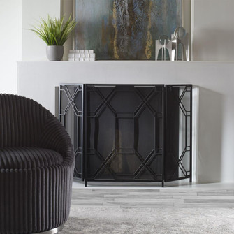 Uttermost Rosen Geometric Fireplace Screen (85|17982)