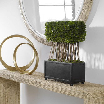 Uttermost Preserved Boxwood Rectangular Topiary (85 60188)