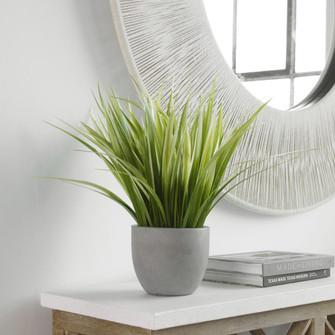 Uttermost Dracaena Grass In Gray Planter (85 60194)