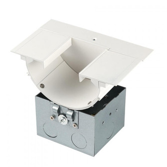 Indirect Architectural Channel (16|LED-T-RBOX3-WT)