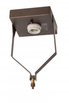 5''Sq Mahogany Bronze Flushmount Hardware (96|169762)