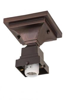 5''Sq Mahogany Bronze 1 LT Flushmount Hardware (96|169268)
