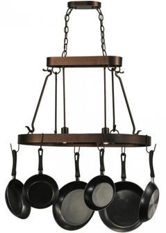 32'' Long Harmony 2 Light Pot Rack (96|149667)
